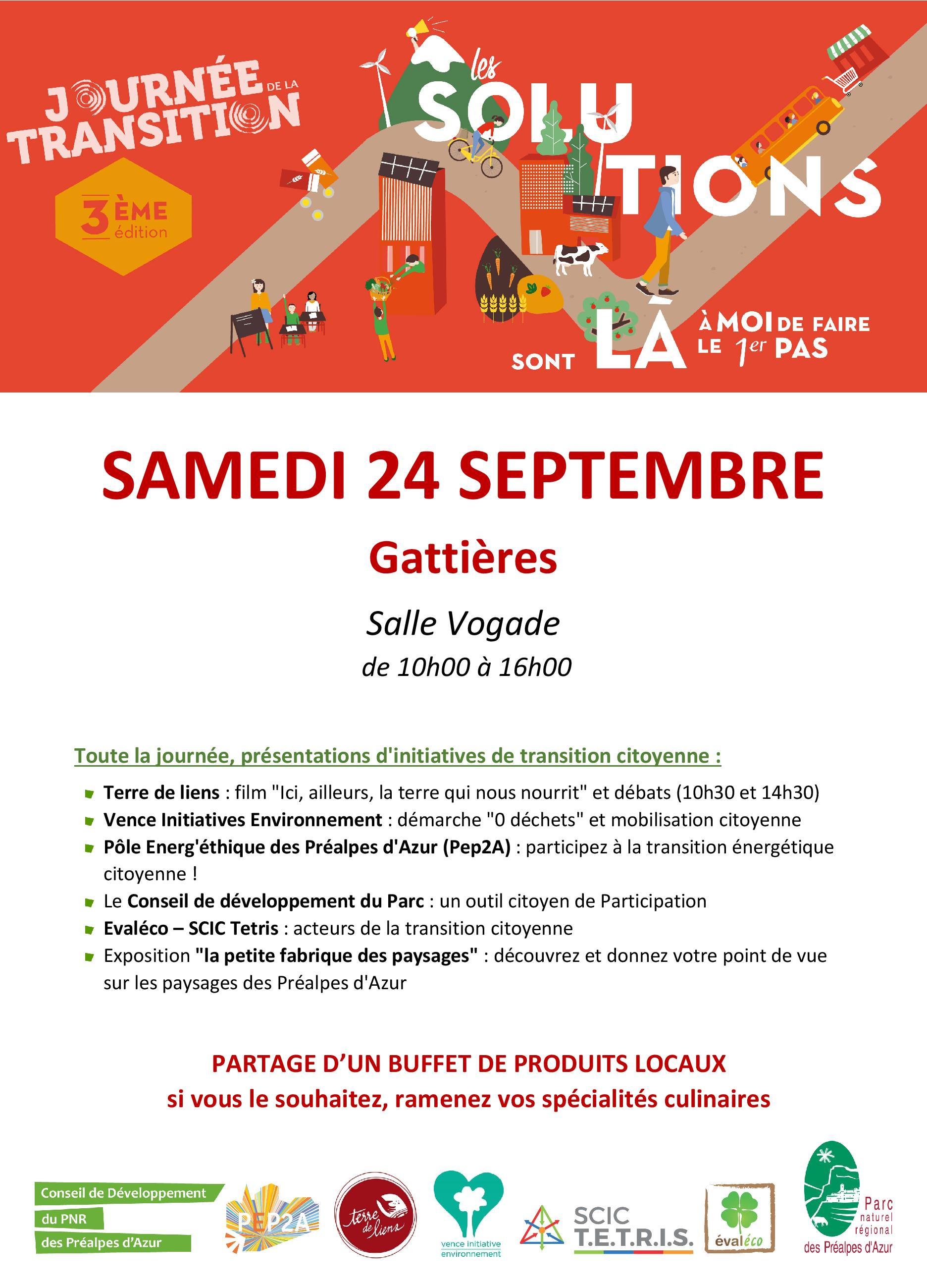 20160924 affiche transition citoyenne Gattieres